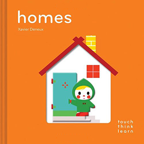 Touch Think Learn:Homes 住家 厚紙硬頁認知書