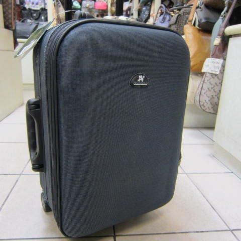 ~雪黛屋~POLO HOUSE 18吋 國際航空可直接登機標準尺寸行李箱 硬式邊殼 鋁合金拉桿#2198灰