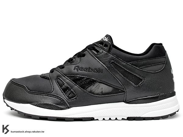 [25cm] 2015 限量登場 最強暗黑骷髏 限定回歸 mastermind JAPAN x REEBOK VENTILATOR 聯名款 全黑 黑白 骷髏頭 1990 經典跑鞋 HEXALITE 蜂巢緩震系統 MMJ (V67116) !