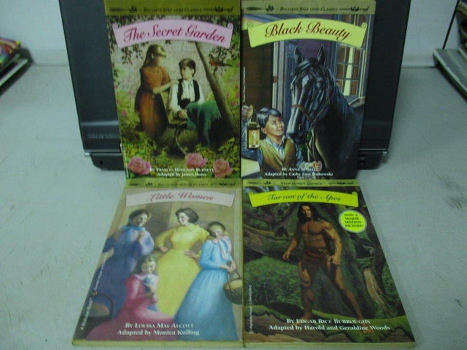 【書寶二手書T2/原文小說_NAZ】Little women_The secret garden等_共4本合售