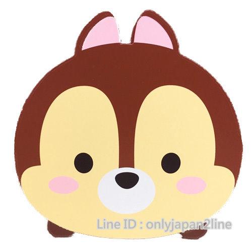 【真愛日本】16112600007TSUMTSUM木頭筆筒-奇奇   迪士尼 花栗鼠 奇奇蒂蒂 松鼠  筆筒  收納盒  文具