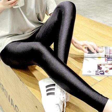 MiLove ↗ 閃閃發亮瘦腿光澤內搭褲 ☆【N15】