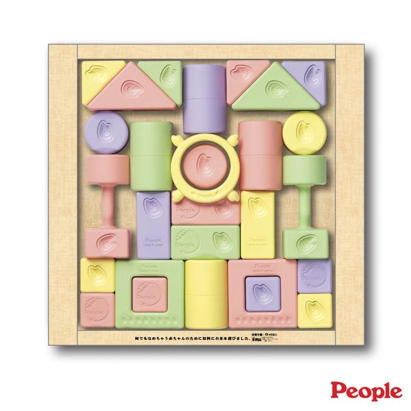 People - 彩色米的積木組合