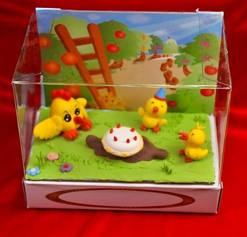 小雞捏麵人 盒長 10.1cm* 寬 15.3cm*高 13cm 【捏麵人】