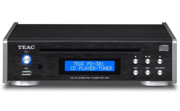 {音悅音響MUSIC HI-FI}TEAC PD-301 CD 光碟機 USB隨身碟 多媒體 播放機 唱盤 FM 收音機 播放器