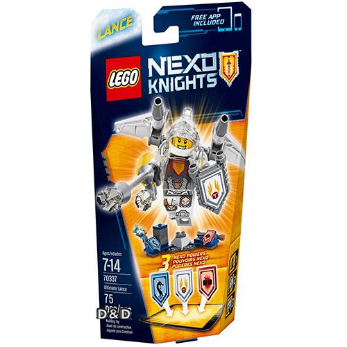 樂高積木LEGO《 LT70337 》Nexo Knights 未來騎士系列 - 終極未來騎士蘭斯
