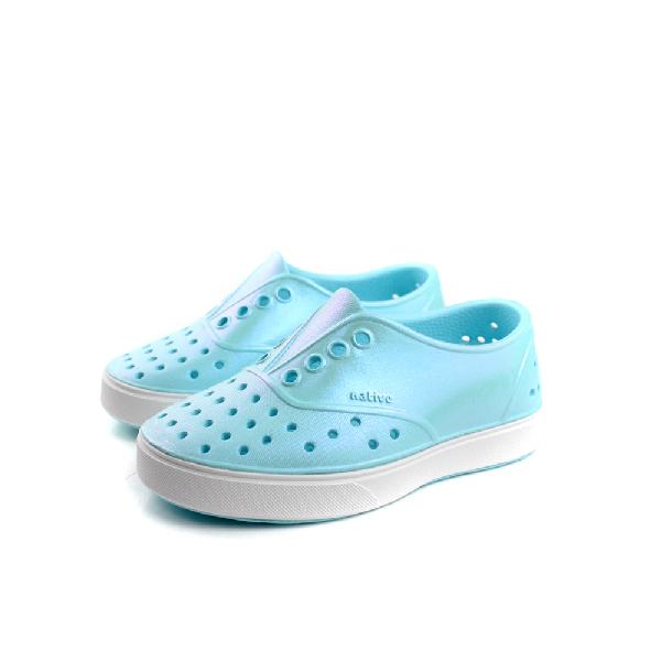 native 洞洞鞋 水藍色 小童 no557