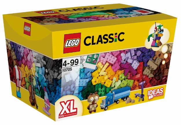 玩具反斗城 樂高 LEGO 創意拼砌盒-10705***