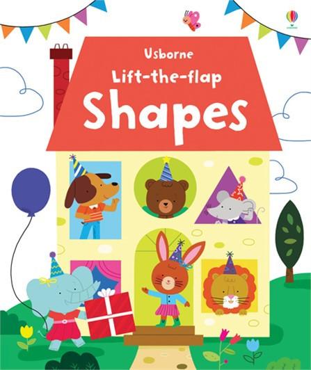 英國 Usborne Lift-the-Flap 翻翻書 Shapes *夏日微風*