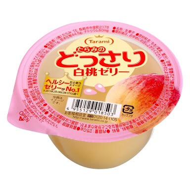 【日本專區】白桃果凍250g*6 入/盒