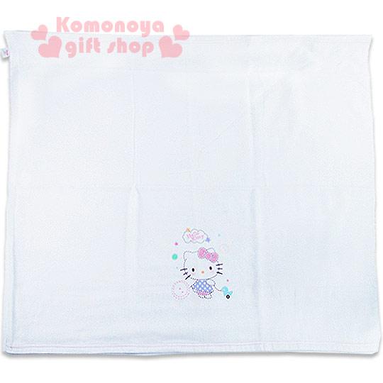 〔小禮堂嬰幼館〕台灣 佳美 Kitty 紗布浴巾《白.回頭.小鴨.星星》90x90公分