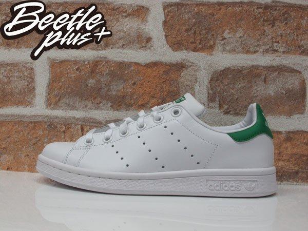 女生 BEETLE PLUS ADIDAS ORIGINALS STAN SMITH 白綠 愛迪達 復古 休閒鞋 余文樂 女鞋 M20605