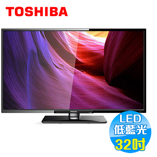 飛利浦 Philips 32吋 淨藍光 液晶電視 32PHH5210