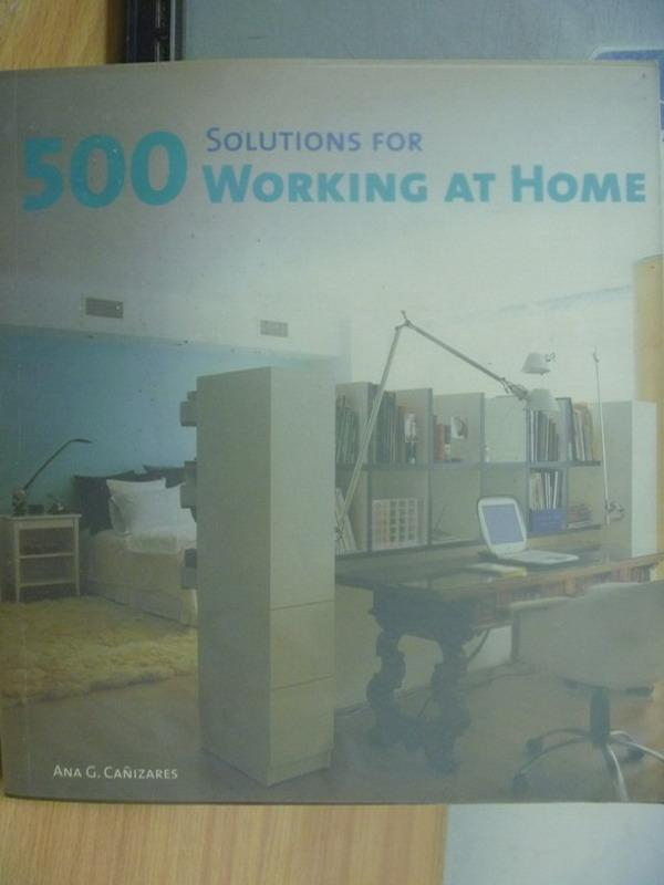 【書寶二手書T9/建築_YHL】Solutions for 500 working at home