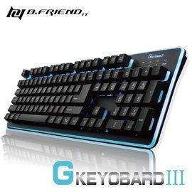 B.FRIEND GK3 遊戲鍵盤 發光鍵盤 懸浮式按鈕