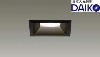 DAIKO大光 LED調光方型崁燈黑色11W2700K 挖孔10公分