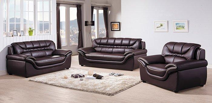 【尚品傢俱】HY-A226-02 艾森豪皮沙發 (咖啡) (1人座) 另有米黃色