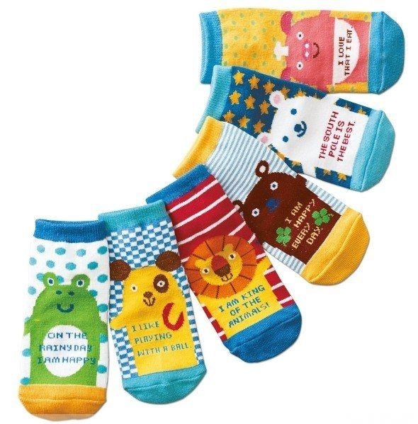 ☆傑媽童裝☆日單可愛動物直板襪,不挑色隨機出【C09】