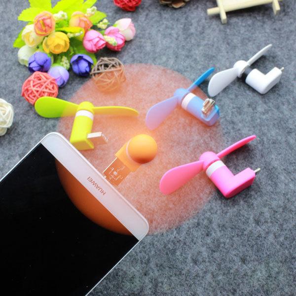 PS Mall 手機風扇 迷你USB風扇 小風扇 【J286】
