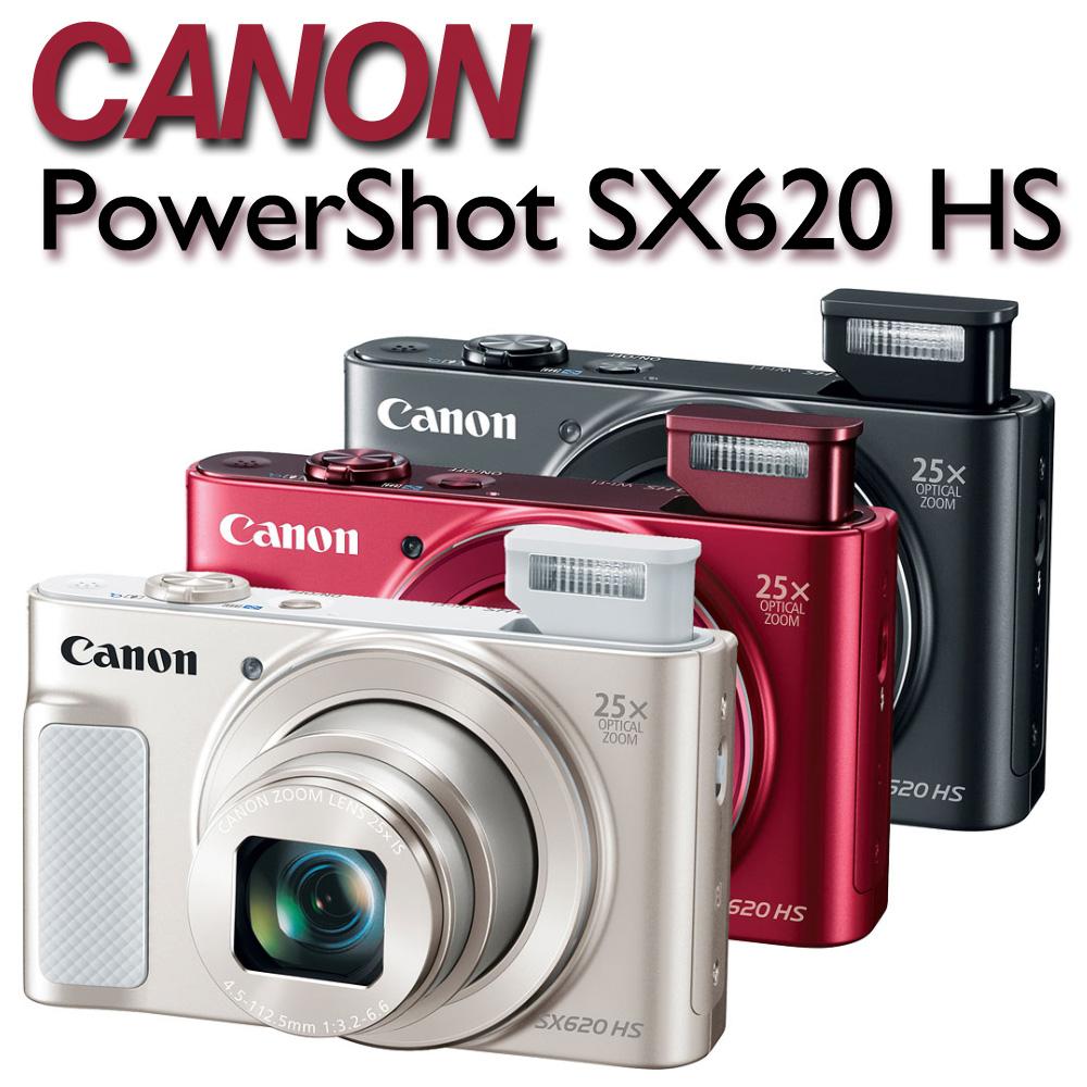 【32G卡+清潔好禮組 】Canon PowerShot SX620 HS【公司貨】