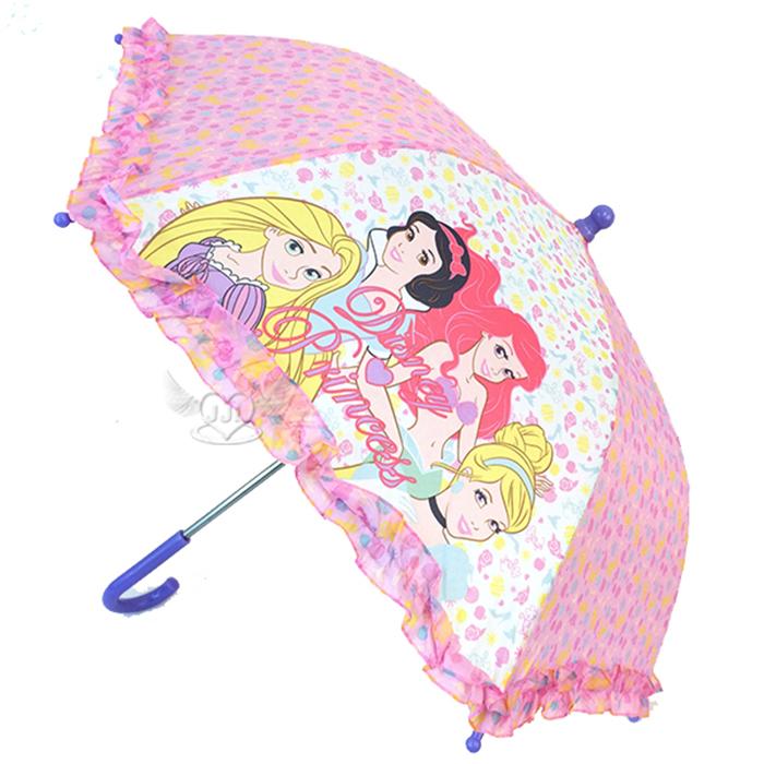 迪士尼公主兒童雨傘長傘直傘 056905*JJL*