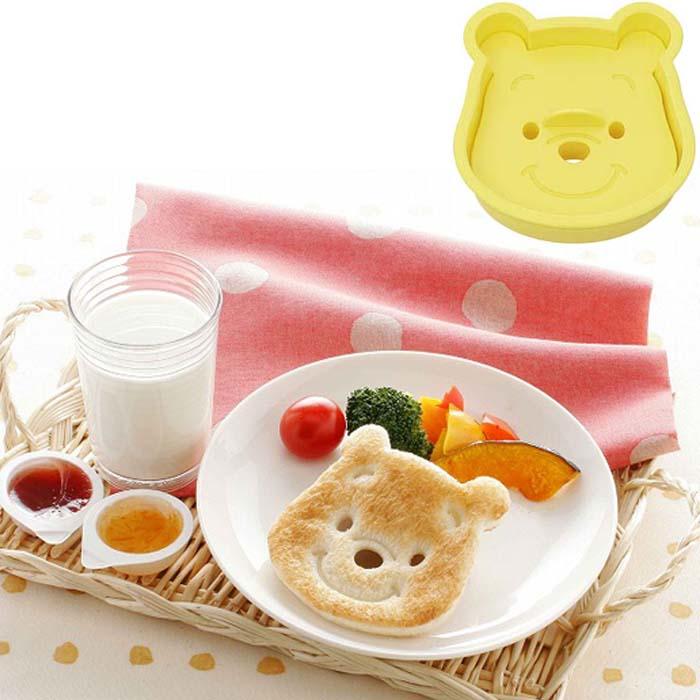 維尼造型吐司餅乾壓模模具模型日本製  091810*JJL*