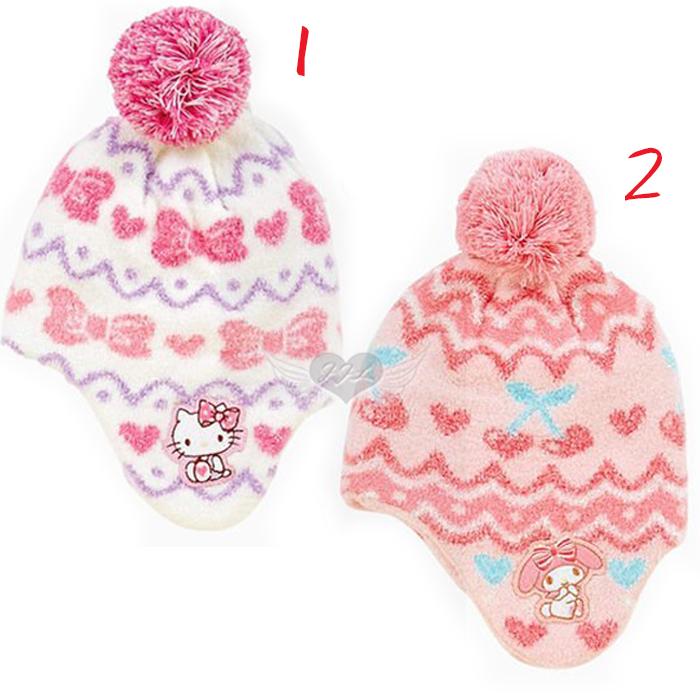 台灣製HELLO KITTY美樂蒂兒童帽子適合頭圍約40~45cm 2選1 10621936*JJL*