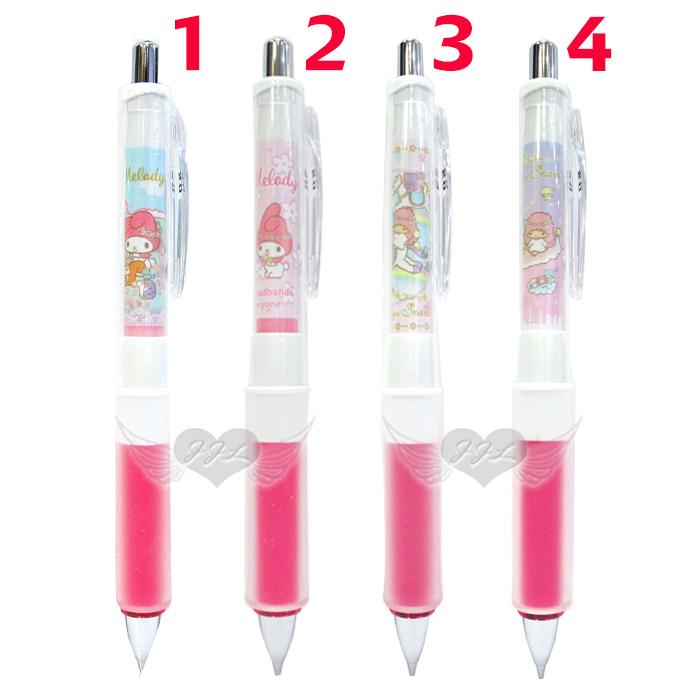 日本製美樂蒂雙子星搖搖筆自動筆自動鉛筆Dr.Grip減壓設計 4選1  70473055*JJL*