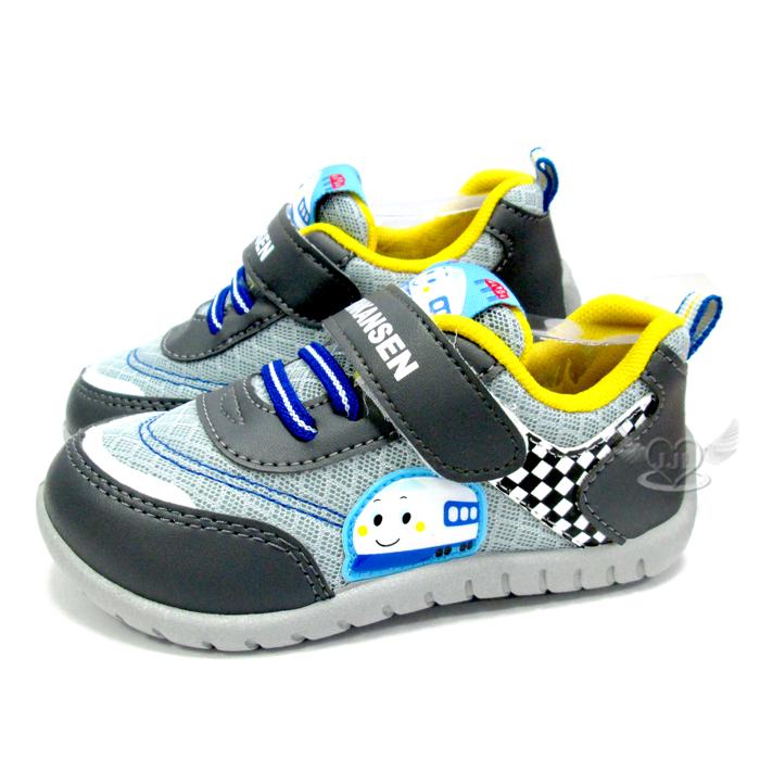 台灣製新幹線兒童鞋子休閒鞋灰色14~18cm 5選1 95711680*JJL*