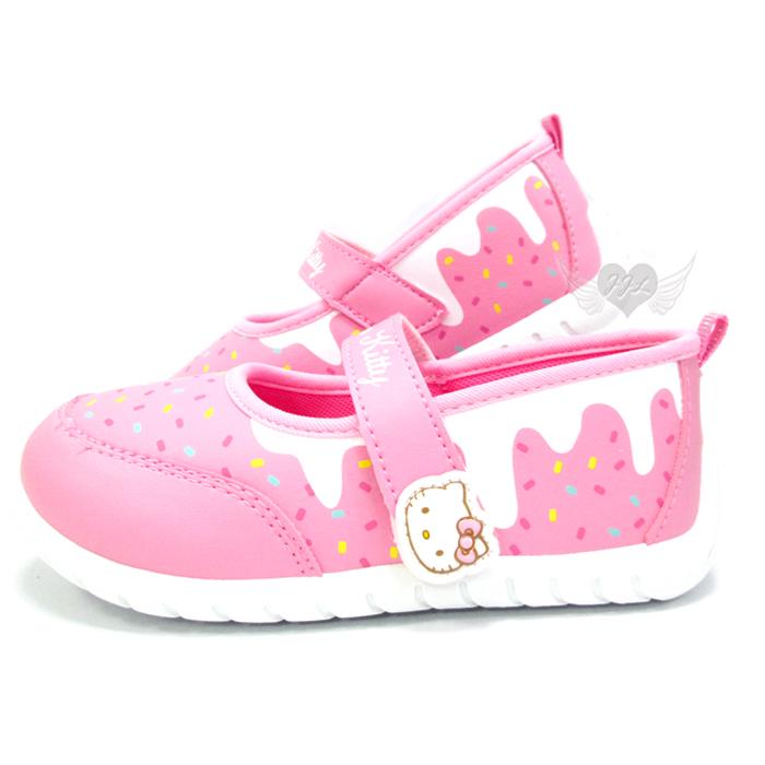 台灣製HELLO KITTY兒童鞋子娃娃鞋休閒鞋粉色13~18cm 6選1 95711780*JJL*