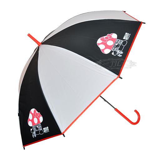 *JJL*HELLO KITTY香菇 直立傘 長傘 雨傘  188327