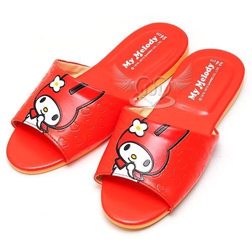 美樂蒂台灣製室內拖鞋紅色24~26cm 3選1  73522681*JJL*
