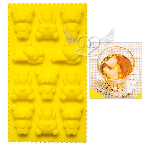 拉拉熊懶懶熊造型製冰盒冰塊模具  523394*JJL*