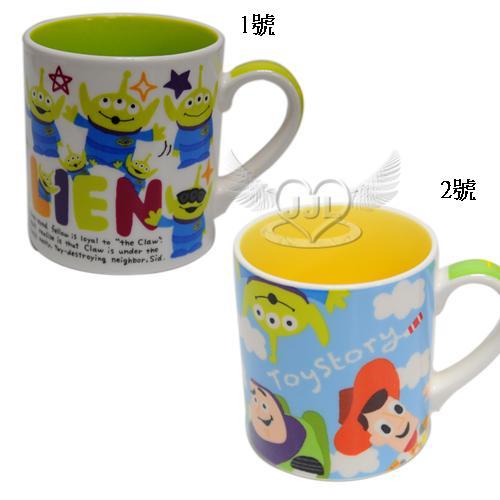 玩具總動員三眼怪陶瓷馬克杯杯子約350ml日本製 2選1  74317045*JJL*