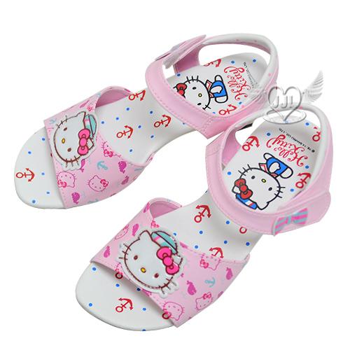 HELLO KITTY兒童高跟涼鞋粉色16~21cm台灣製  6選1  95710910*JJL*