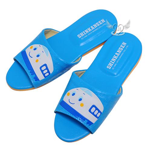新幹線兒童室內拖鞋兒童拖鞋藍色18/20/22cm台灣製 3選1  73522773*JJL*