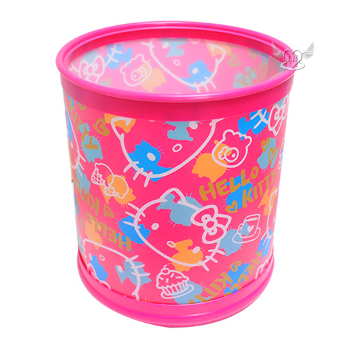HELLO KITTY組裝式垃圾筒垃圾桶置物桶 153765*JJL*