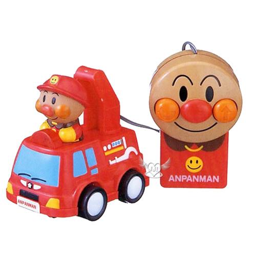 麵包超人有線遙控車消防車玩具  171834*JJL*