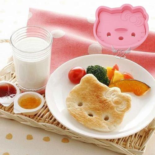 *JJL*日本製 HELLO KITTY大頭造型吐司餅乾模型模具 091827