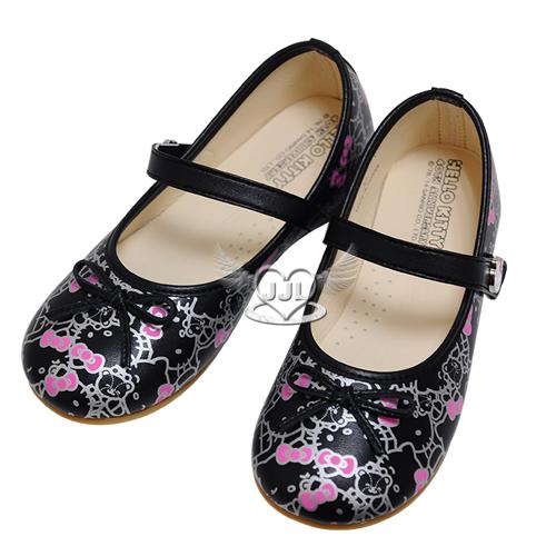 台灣製HELLO KITTY40週年兒童娃娃鞋鞋子黑色25~32號 8選1  95710550*JJL*