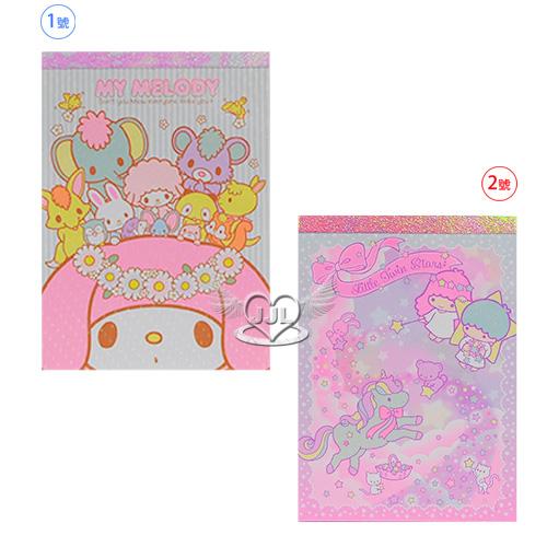日本製美樂蒂雙子星便條紙(M)40週年紀念 2選1  70457963*JJL*