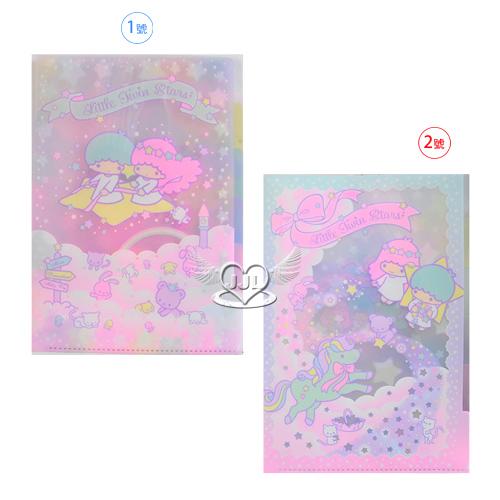 日本製雙子星5層A4文件夾資料夾檔案夾L夾40週年紀念 2選1  70458717*JJL*