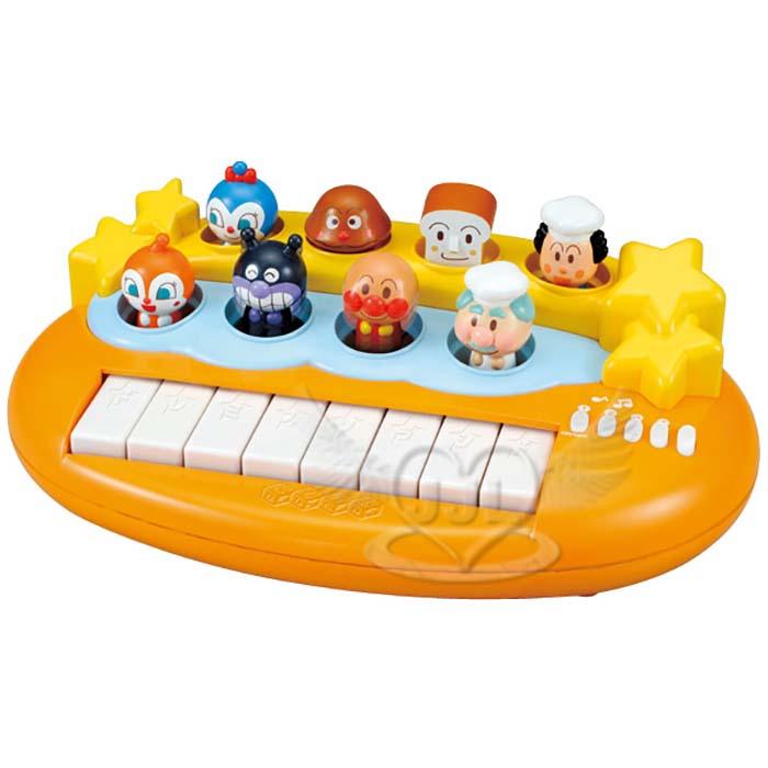 麵包超人鋼琴玩具音樂玩具  755544*JJL*
