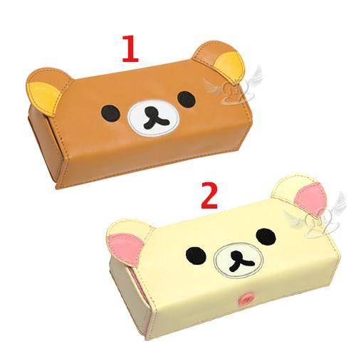 拉拉熊懶懶熊懶妹大臉眼鏡盒收納盒 2選1  13635851*JJL*