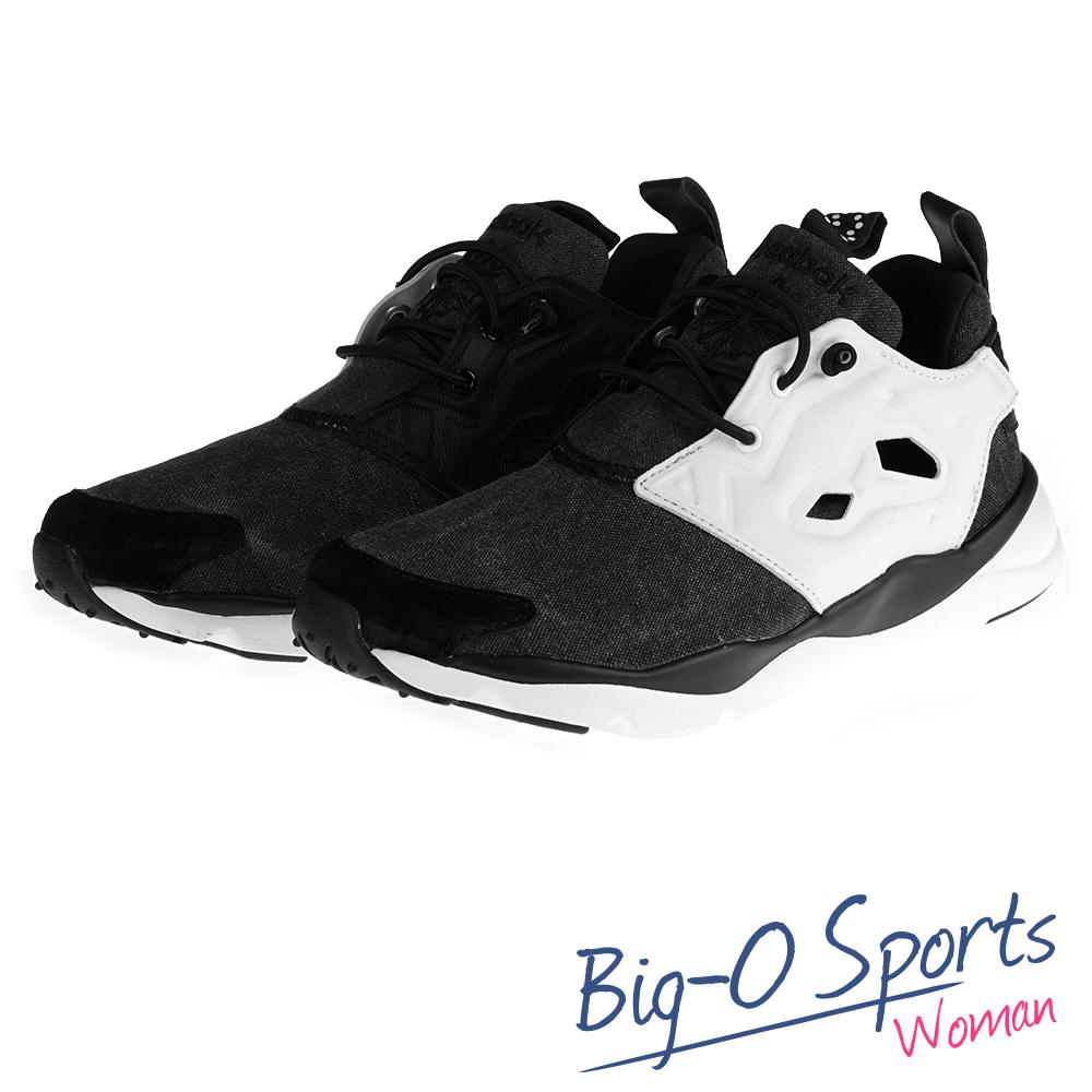 Reebok 銳跑 FURYLITE ASYMMETRICAL  休閒復古鞋  運動鞋 女  V68677  Big-O Sports
