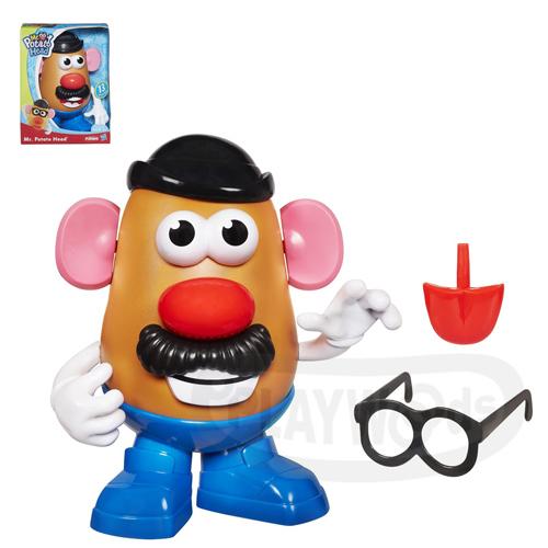【Playwoods】[兒樂寶PLAYSKOOL]蛋頭基本組:蛋頭先生MR.POTATO HEAD (玩具總動員/孩之寶Hasbro/迪士尼/皮克斯)