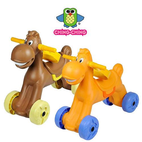 小馬學步車 (咖啡、橘) CA-20【德芳保健藥妝】兒童學步車.滑步車.玩具車.碰碰車.助步車