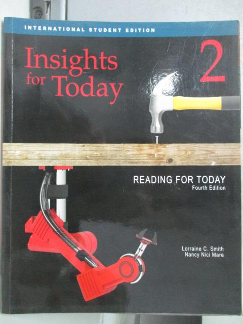 【書寶二手書T1/語言學習_ZJN】Insights for today_Lorraine C. Smith and Nancy Nici Mare
