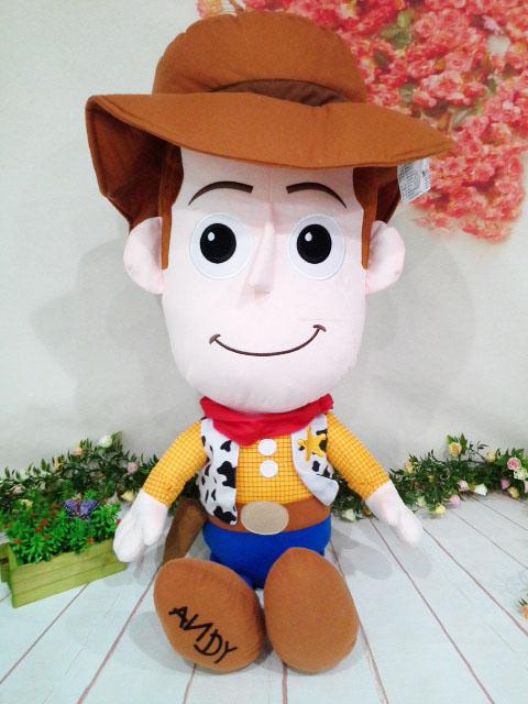 ~*My 71*~     絨毛娃娃 25吋 胡迪 高 92cm 大型 玩偶 玩具總動員 兒童 玩具 牛仔 禮物
