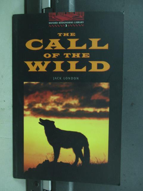 【書寶二手書T1/語言學習_MNL】The call of the wild_jack london